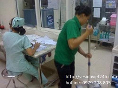 Tạp vụ bệnh viện