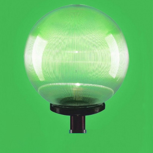 Đèn cầu sọc D400