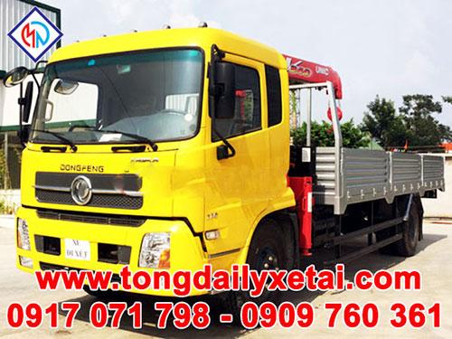 Xe tải Dongfeng 7.5 tấn gắn cầu