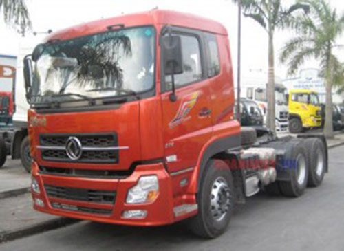 Xe tải Dongfeng đầu kéo thấp