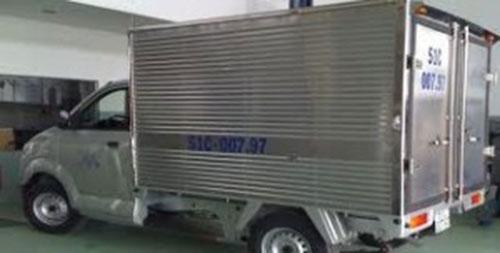 Xe tải Suzuki thùng kín 750KG