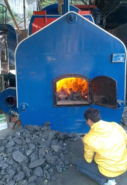 Lò hơi đốt than