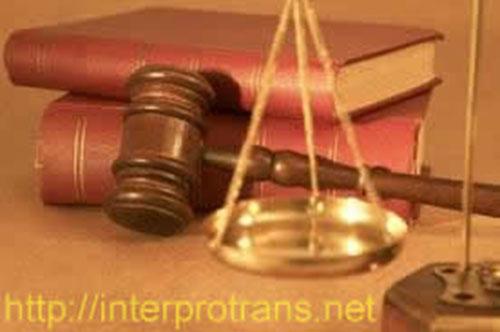 Dịch tài liệu Pháp luật