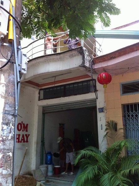 Thầu sửa chữa nhà cửa