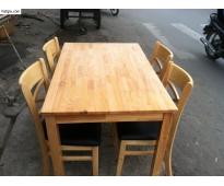 Bàn ghế sắt gỗ HTT 508