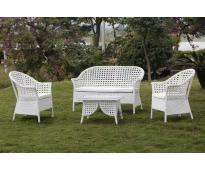 Bàn ghế nhựa sân vườn HTT 024