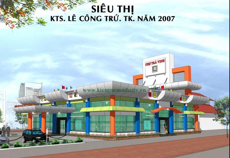 Kiến trúc siêu thị