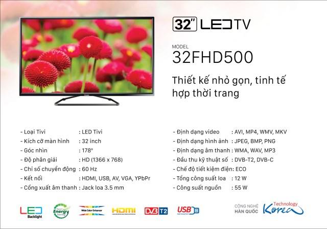 TiVi Imusic 32FHD500