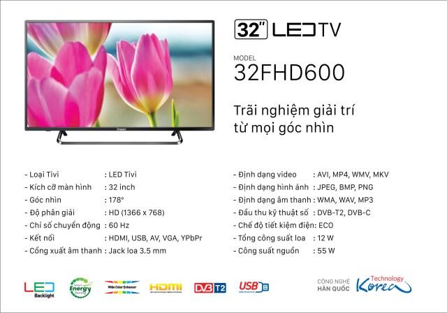 TiVi Imusic 32FHD600