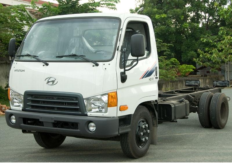 Xe tải Hyundai Đồng Vàng 5.3 tấn