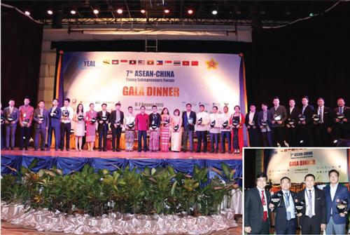 Doanh nhân khởi nghiệp xuất sắc năm 2015 khu vực Đông Nam á