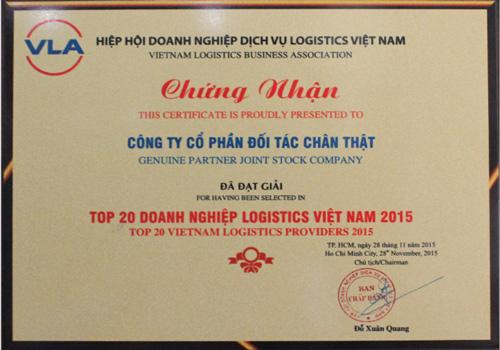 Top 20 Nhà Cung Cấp Chuỗi Logistics Việt Nam