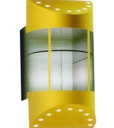Thang lồng kính LK003