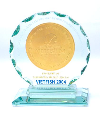 HCV sp thủy sản chất lượng cao năm 2004