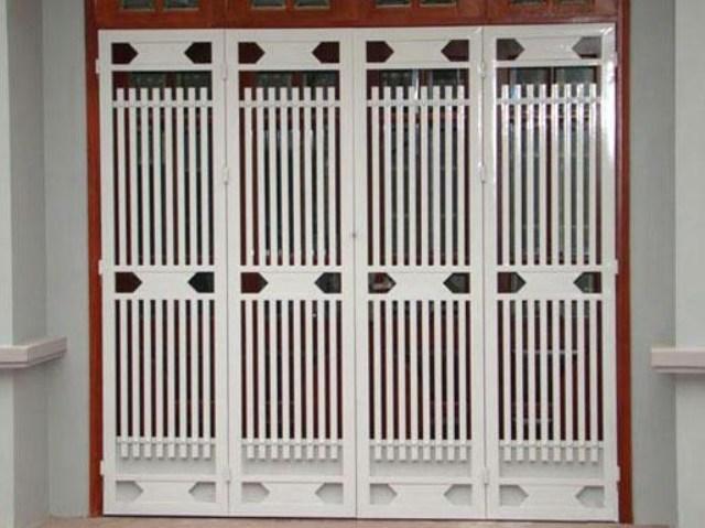 Lắp đặt, sơn tĩnh điện cửa cổng