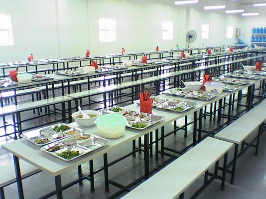 Suất ăn công nghiệp tại các nhà máy