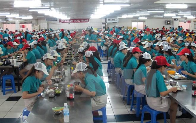 Suất ăn công nghiệp tại các nhà máy, xí nghiệp