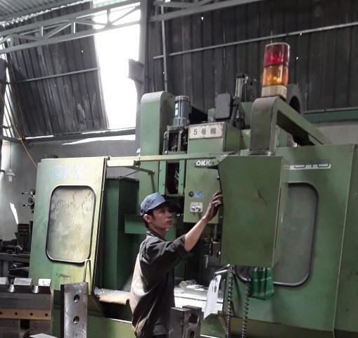 Xưởng gia công cơ khí