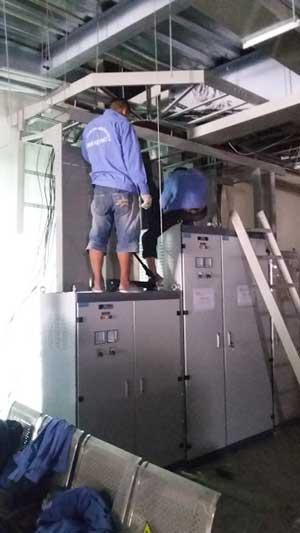Thi công hệ thống điện nước