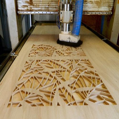 Cắt, khắc CNC trên gỗ