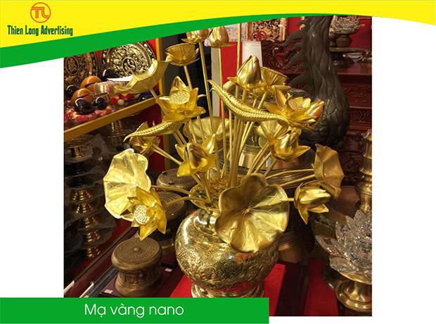 Mạ vàng Nano