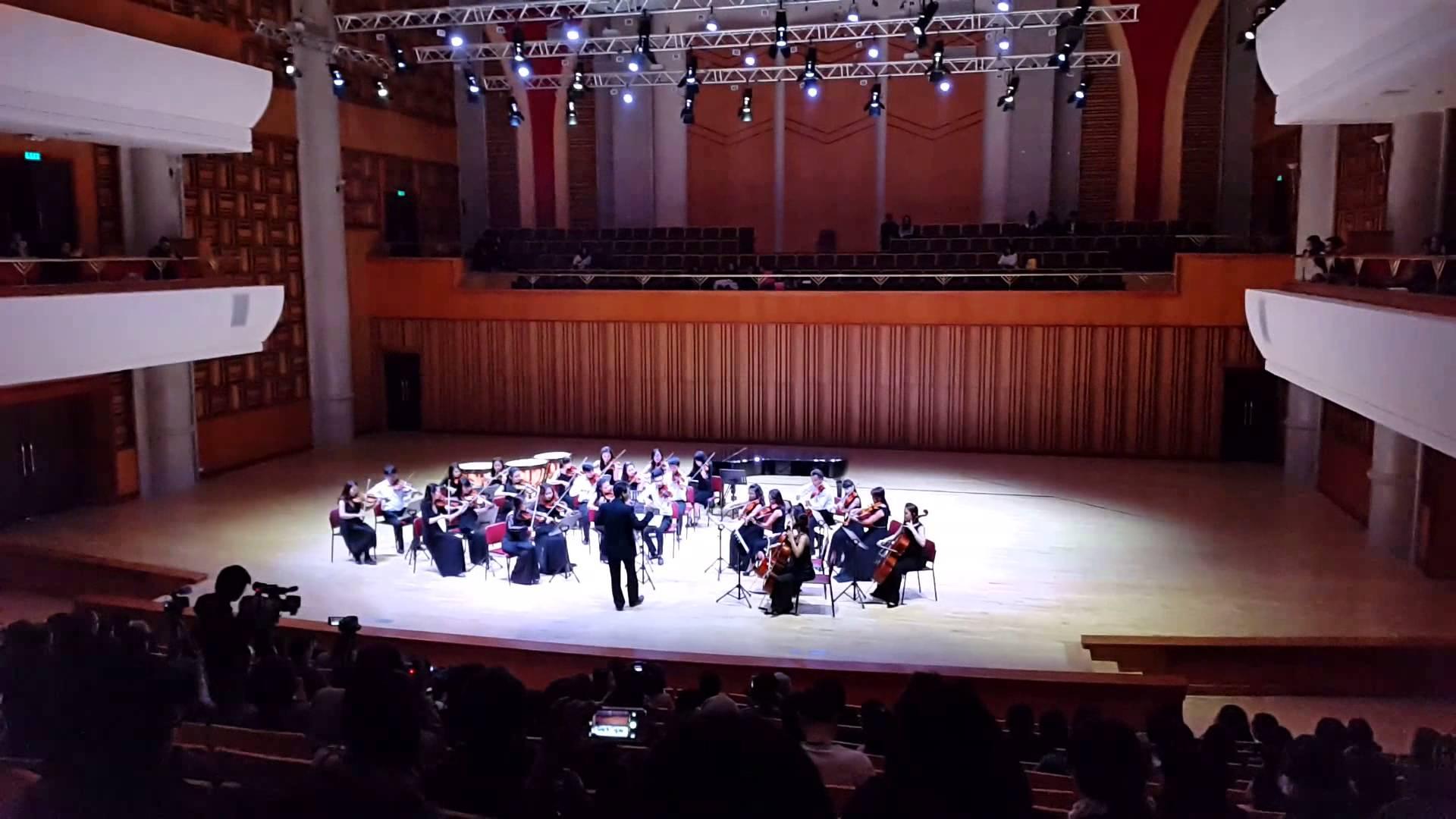 Phòng hòa nhạc - Học viện âm nhạc quốc gia Việt Nam