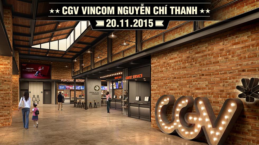Cụm rạp Vincom Nguyễn Chí Thanh