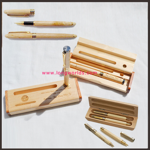Bút gỗ quà tặng