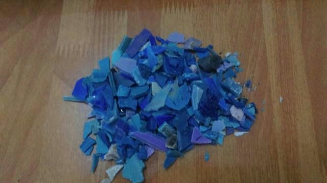 Hạt nhựa tái sinh PP Xanh