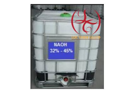 NaOH Caustic Soda Flakes 45% xút lỏng