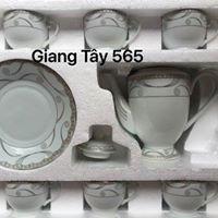 Bộ ấm trà sứ
