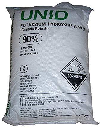 KOH -Potassium hydroxide