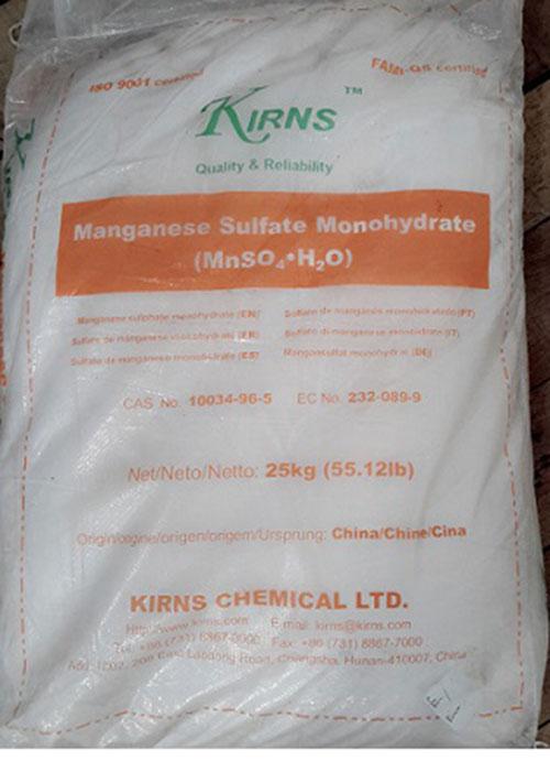 Mangan Sunphat Monohydrate