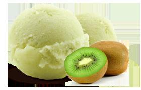 Kem vị Kiwi