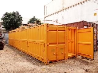 Container chế mở nóc, cửa hông