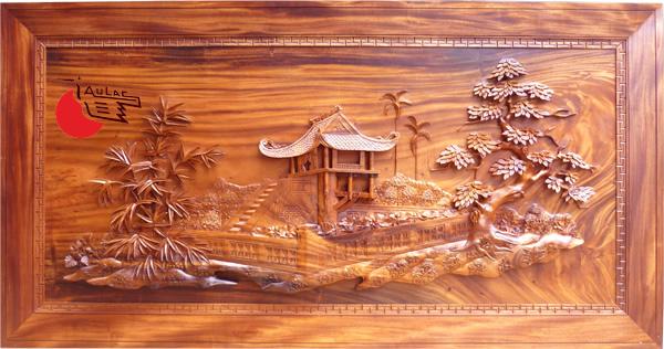 Hoa văn bàn gỗ