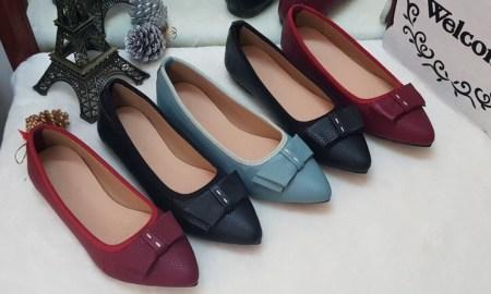 Giày da nữ thời trang