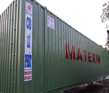 Container chở xe Honda