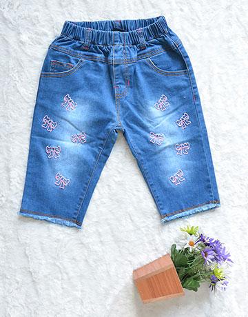 Thêu họa tiết trên quần