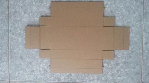 Gia công cắt mẫu thùng carton