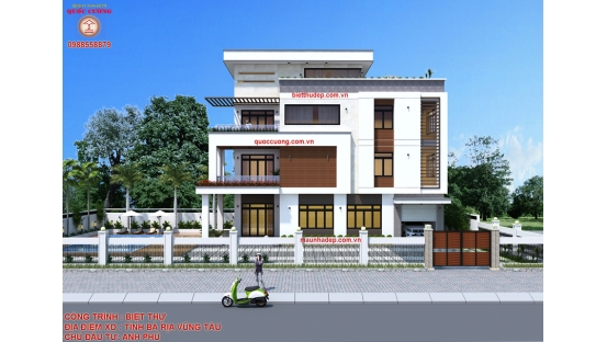 Thiết kế, xây dựng biệt thự