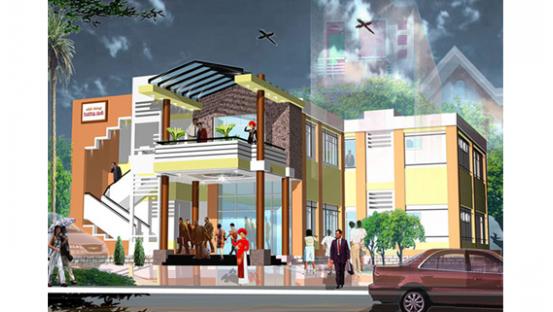 Thiết kế, xây dựng nhà hàng