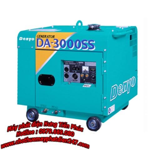Máy phát điện gia đình Denyo