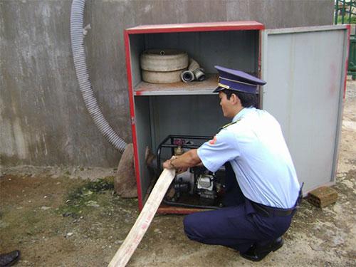 Dịch vụ bảo vệ công trình