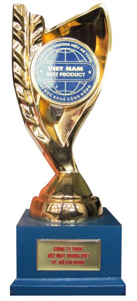 Cúp Vàng Việt Nam BEST PRODUCT