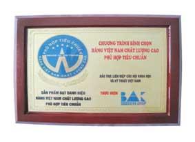 Vàng Hàng Việt Nam Phù Hợp Tiêu Chuẩn