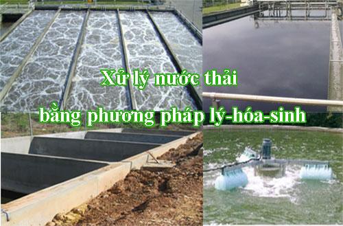 Xử lý nước thải PP lý hóa sinh