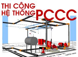 Thi công lắp đặt thiết bị PCCC