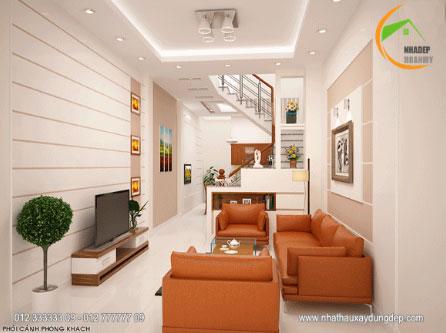 Thiết kế kiến trúc phòng khách