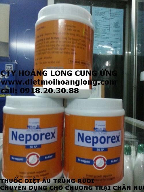 Neporex 50SP diệt ấu trùng ruồi